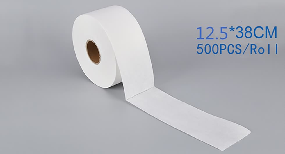 white industrial wipe roll-4